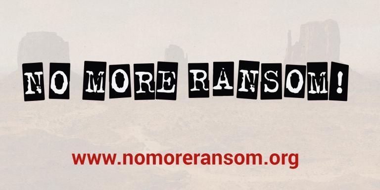 No More Ransom